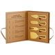 Creative Brands Champagne Gold Cheese Knives