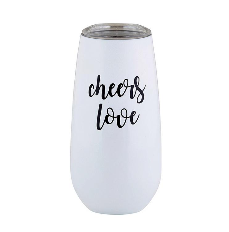 Creative Brands Champagne Tumbler - Cheers Love