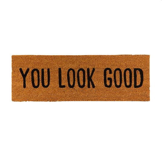 Creative Brands Door Mat - Look Good