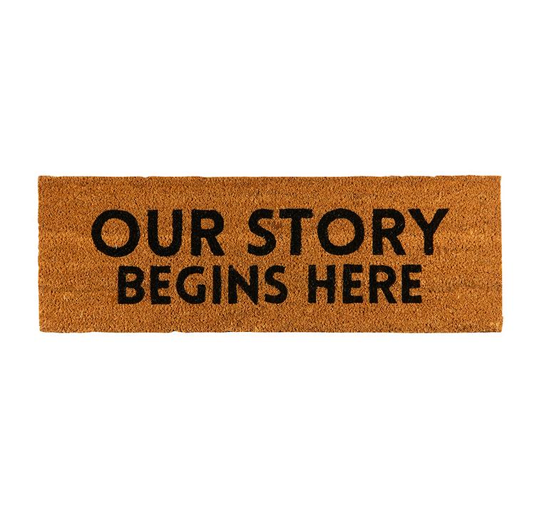 Creative Brands Door Mat - Our Story