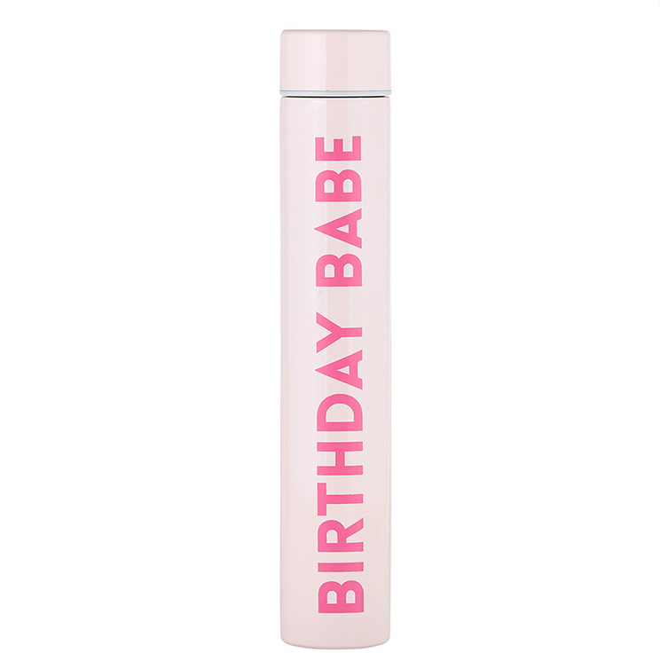 Creative Brands Flask Bottle - Birthday Babe