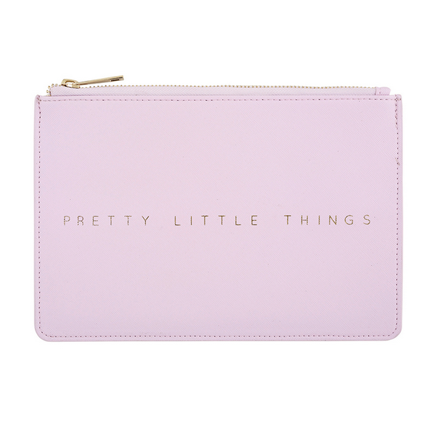 Creative Brands Leather Pouch - Lavender