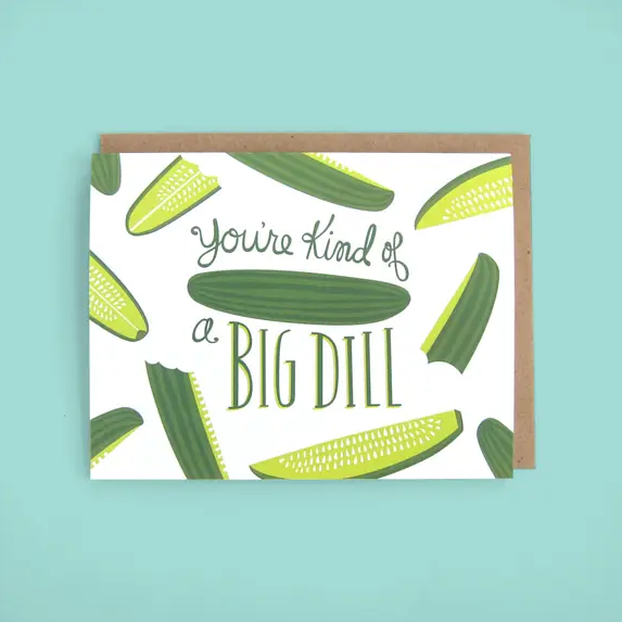 The Neighborgoods Big Dill Pickle Card