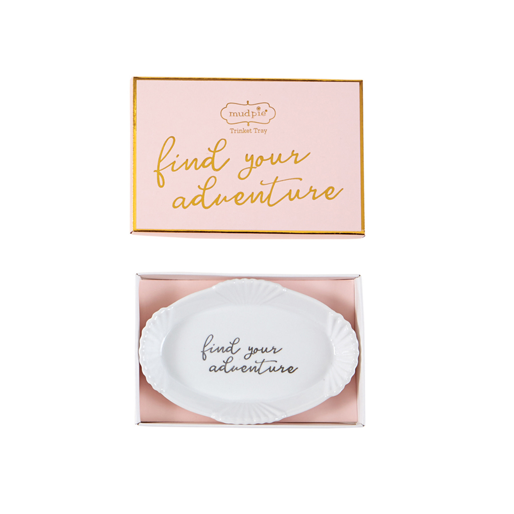 Mud Pie ADVENTURE GRAD TRINKET DISH