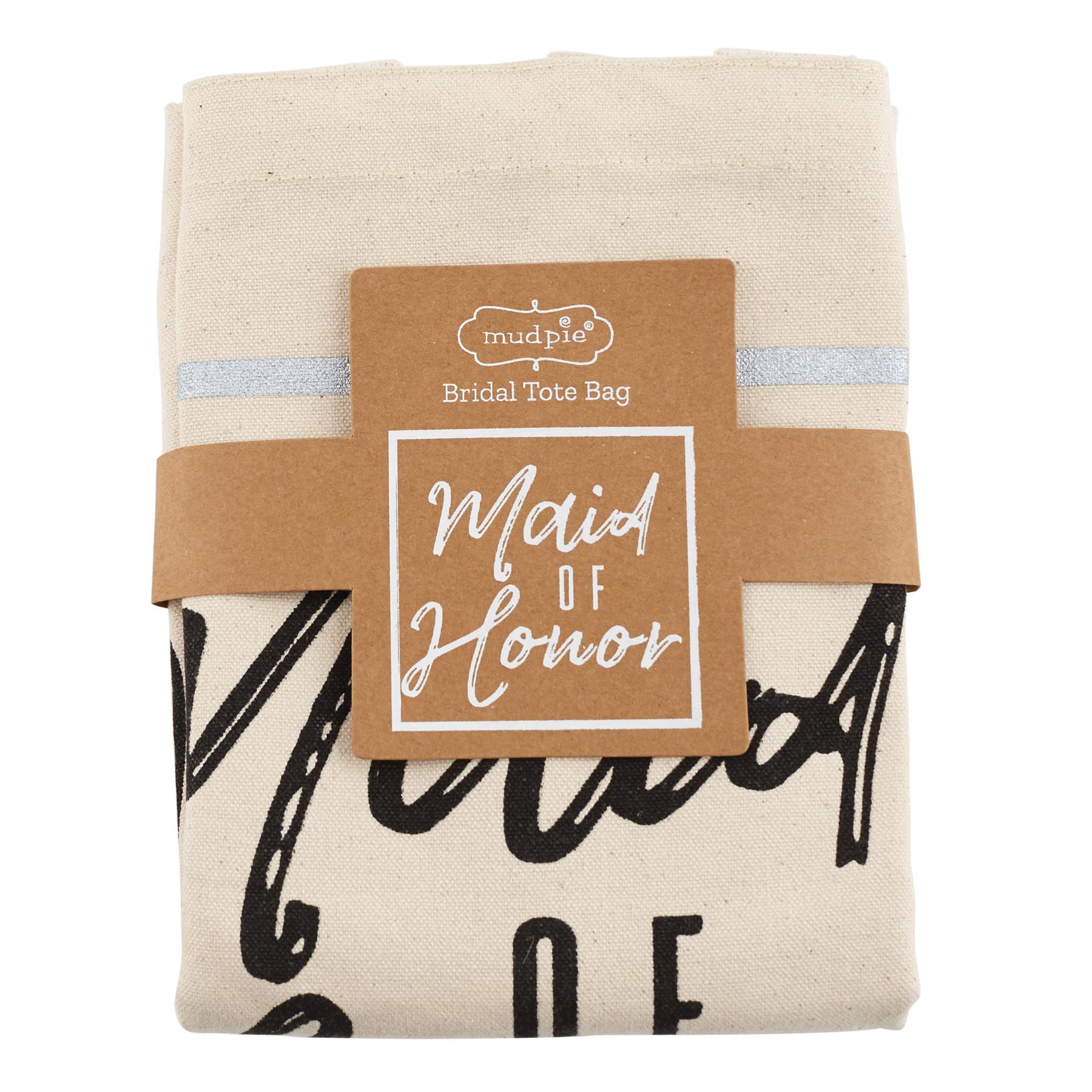 Mud Pie MAID OF HONOR TOTE BAG