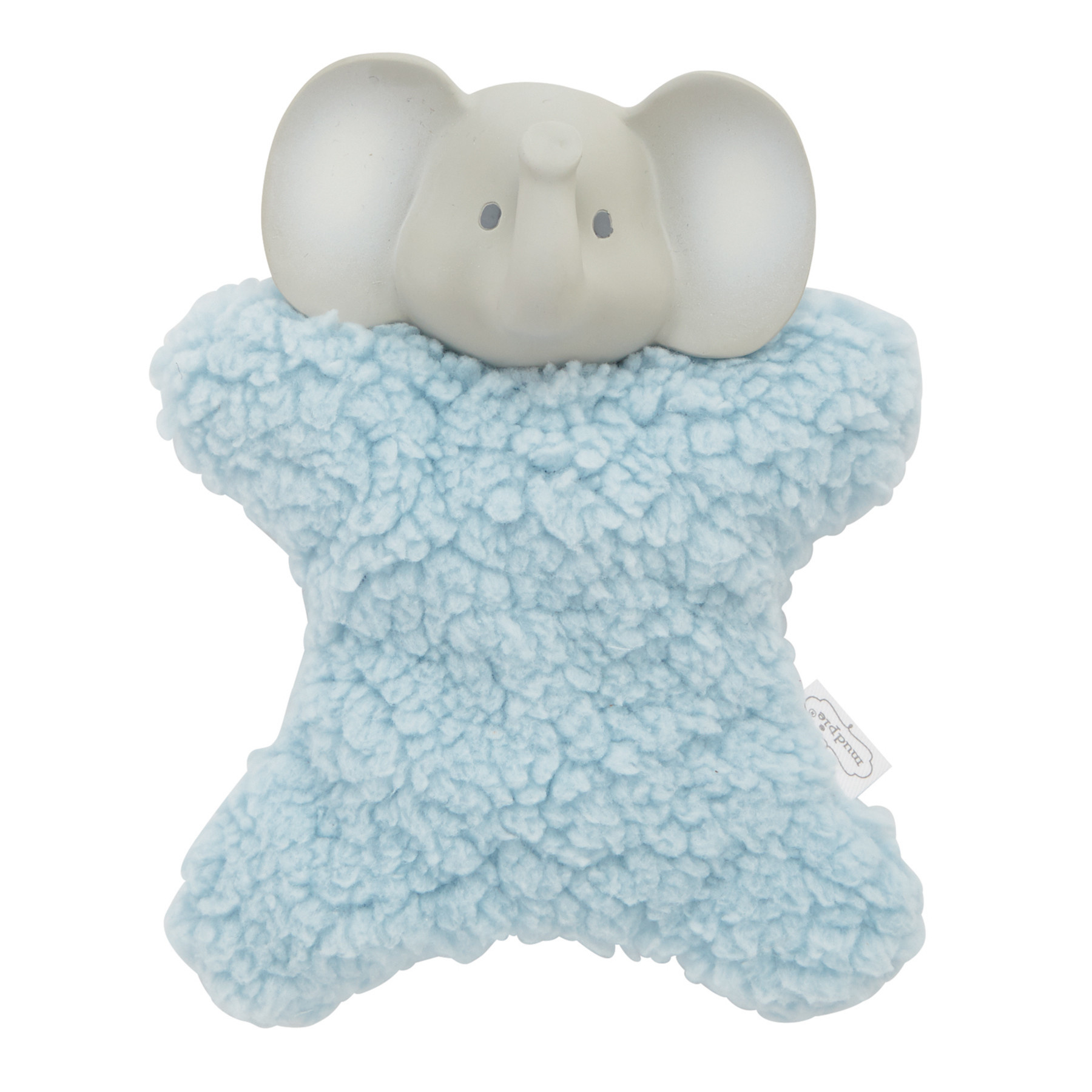 Mud Pie ELEPHANT PLUSH TEETHER