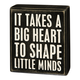 Primitives By Kathy Box Sign - Big Heart