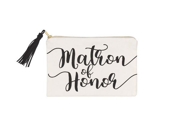 Collins Painting Matron Honor Cosmetic Bag