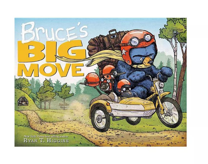 Hachette Bruce's Big Move