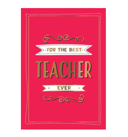Hachette For the Best Teacher Ever
