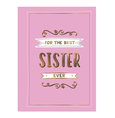 Hachette For the Best Sister Ever
