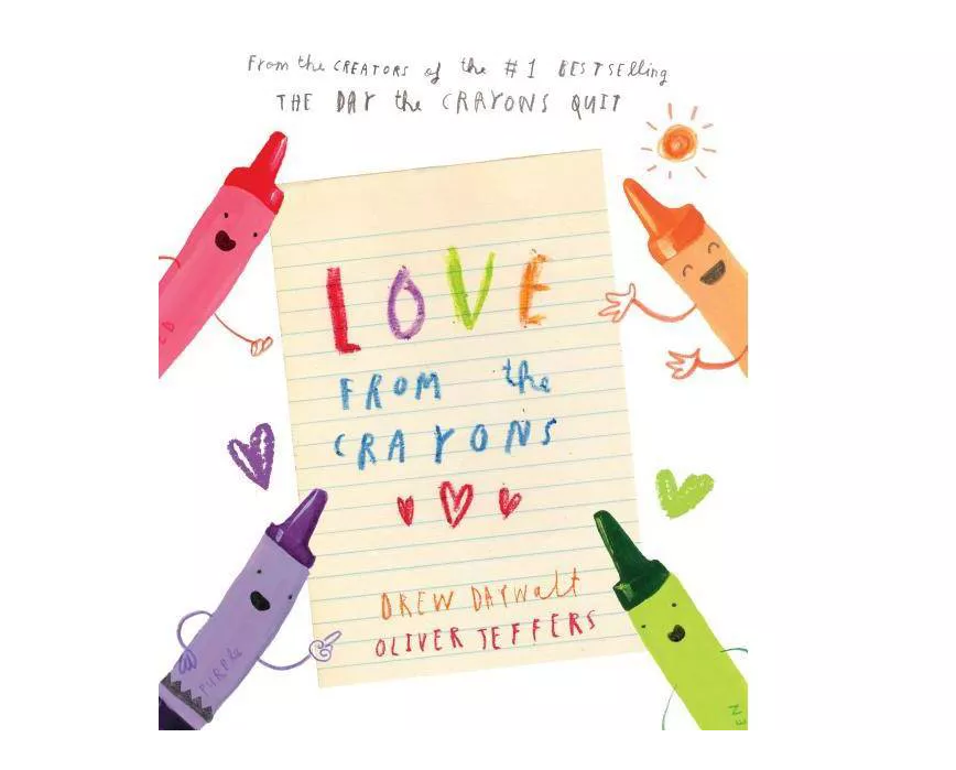 Penguin Randomhouse Love From the Crayons