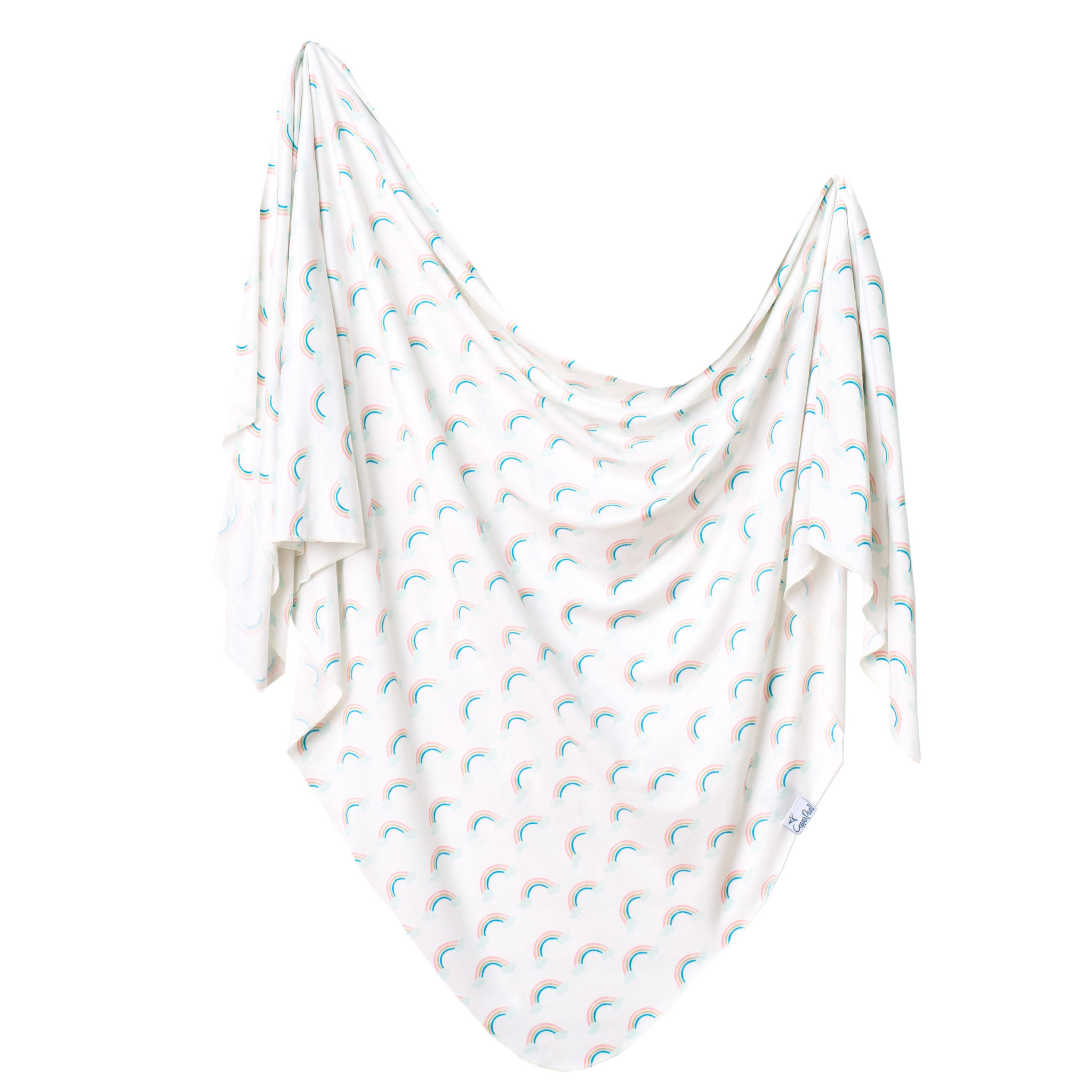 Copper Pearl Knit Swaddle Blanket Daydream