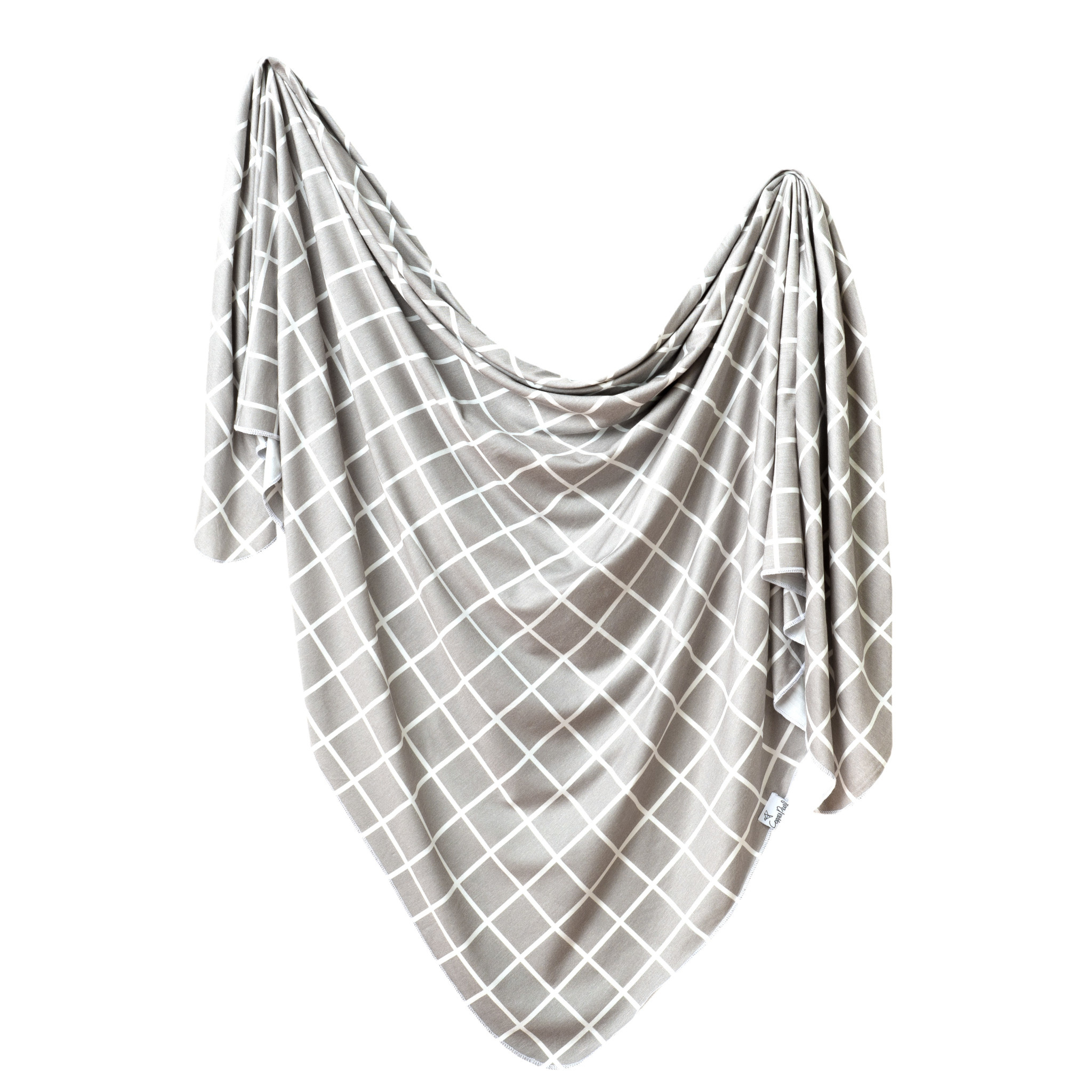 Copper Pearl Knit Swaddle Blanket Midway