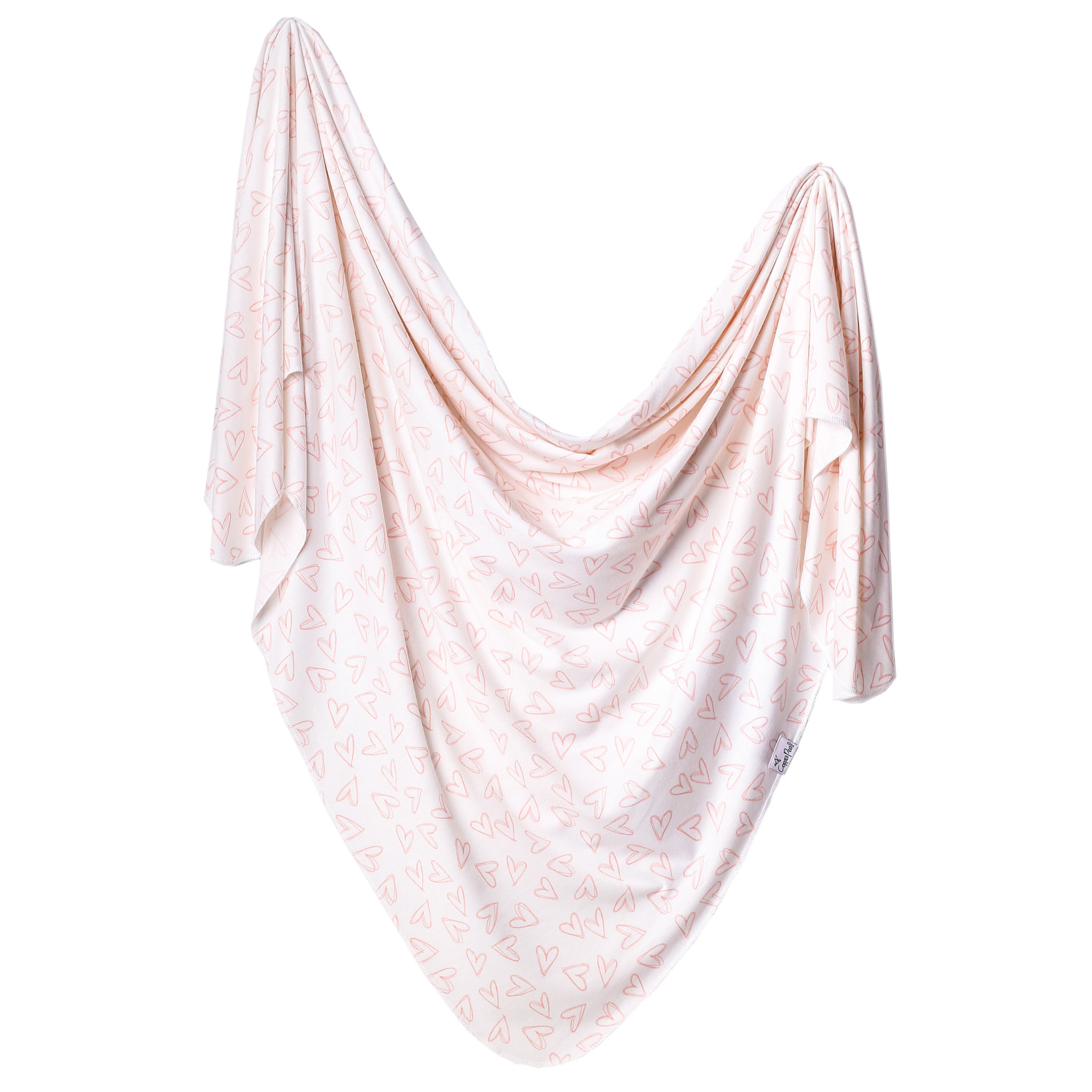 Copper Pearl Knit Swaddle Blanket Lola