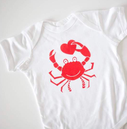 Exit343Design Crab Friend Onesie