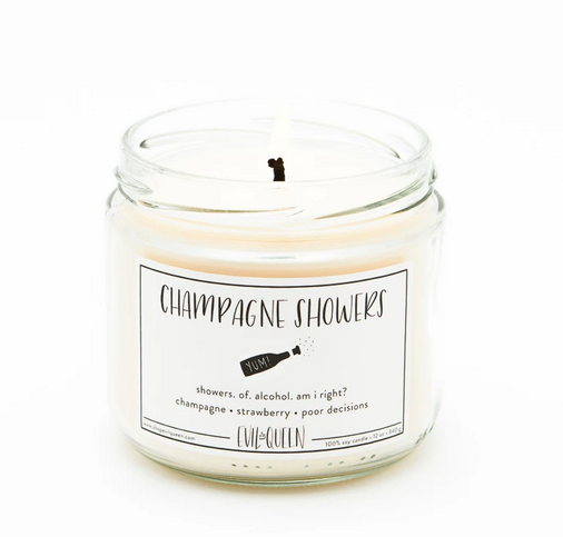 Evil Queen Champagne Showers Candle