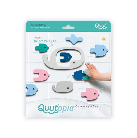 Quut Toys Bath Puzzle - Whales