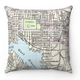 Map Pillow Canton
