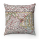 Map Pillow Maryland