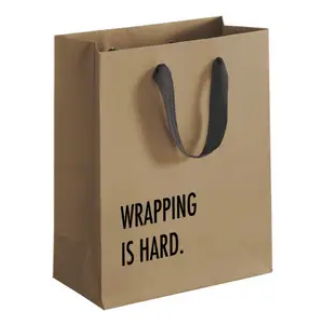 Pretty Alright Goods Gift Bag Wrapping is Hard