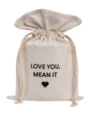 Ever Ellis Canvas Bag Love You
