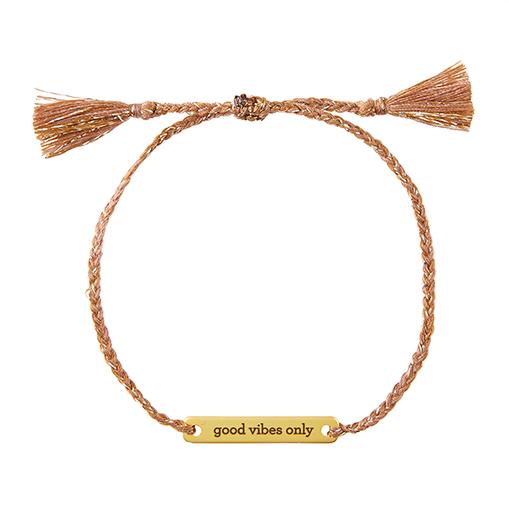 Creative Brands Bracelet Good Vibes Only