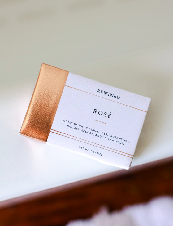 Rewined Rose Bar Soap