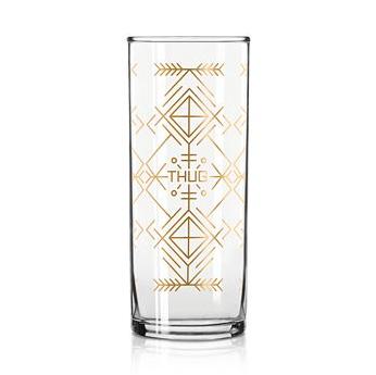 Easy Tiger Cocktail Glass - Thug Life