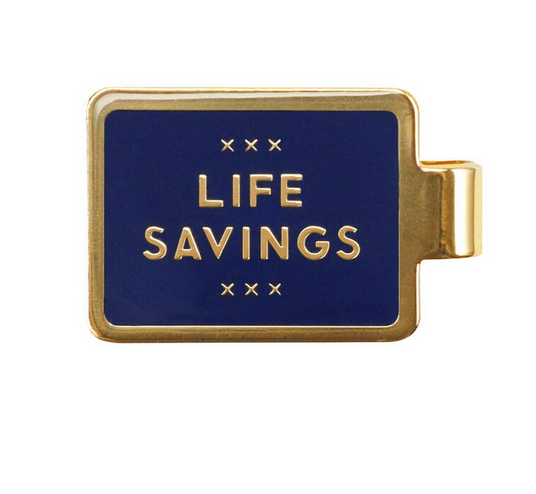 Easy Tiger Money Clip Life Savings