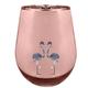 Sunnylife Flamingo Glass