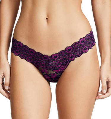 Hanky Panky Low Rise Thong - Cross Dye