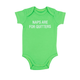 About Face Designs Naps Are For Quitters Onesie 3-6 Months