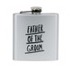 About Face Designs Father of the Groom Flask