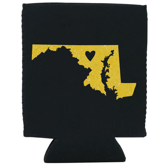 About Face Designs Maryland Koozie