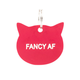 About Face Designs Cat Tag - Fancy AF