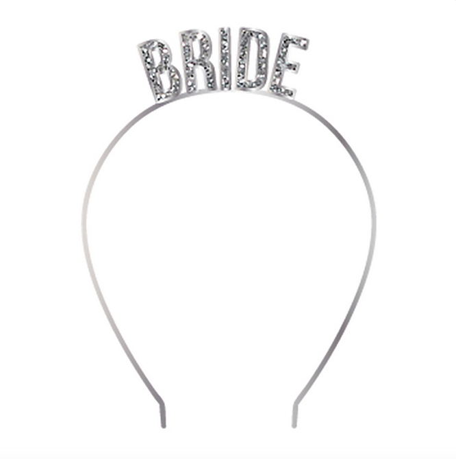 Slant Headband Bride