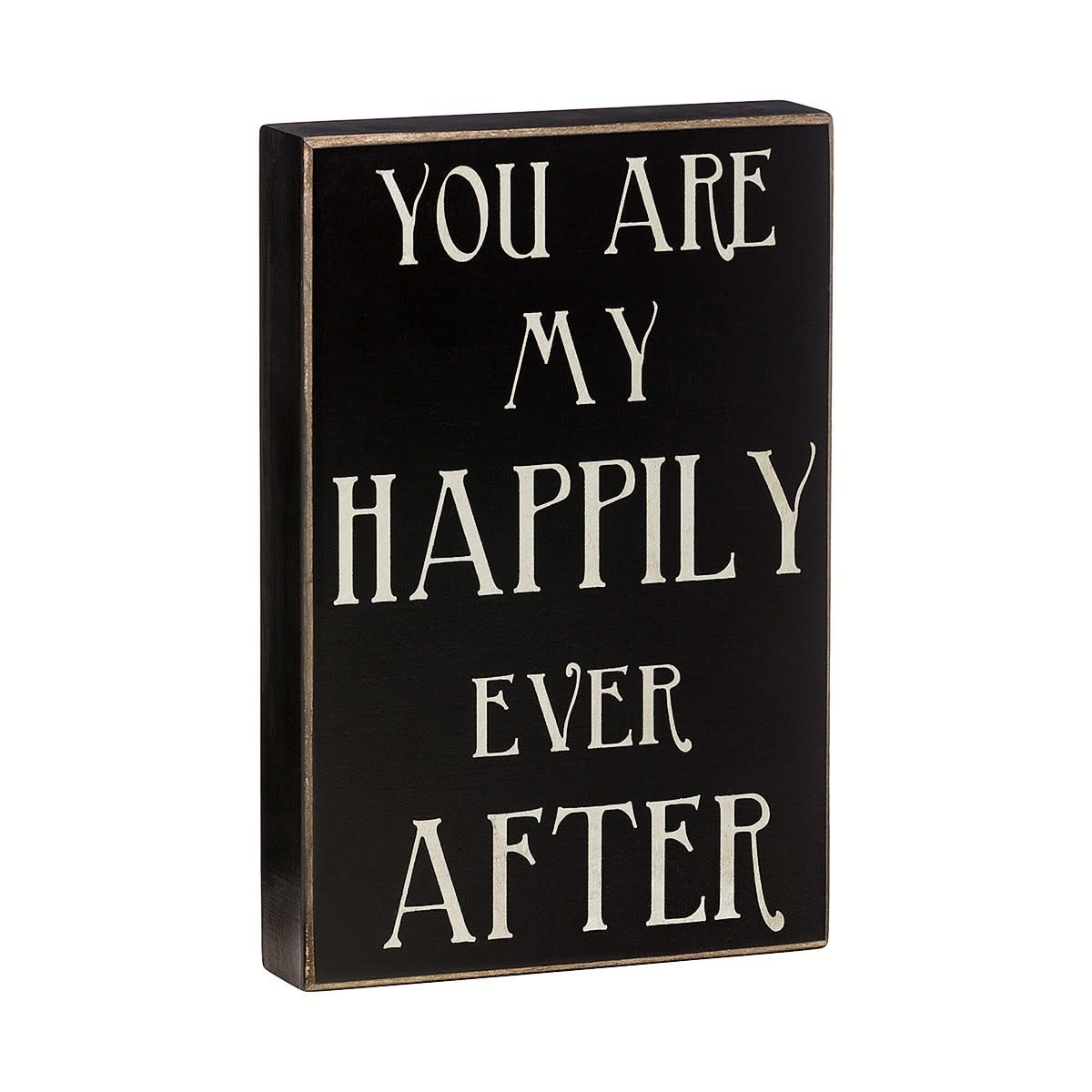 Collins Painting Happily Ever After Box Sign