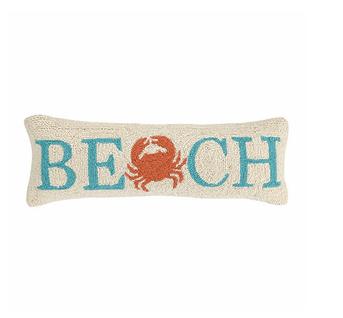 """Peking Handicraft Beach Hook Pillow 8"""" x 24"""""""