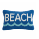 "Peking Handicraft Beach Hook Pillow 8"" x 12"""