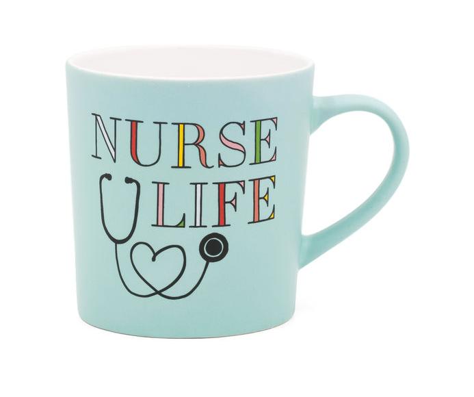 About Face Designs Nurse Life Mug