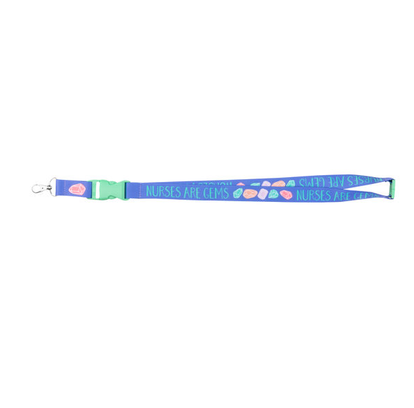 About Face Designs Nurses Are Gems Lanyards