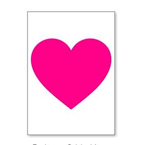 J. Falkner Enclosure Card Heart