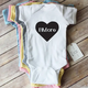 Paper Cow Clothing BMore Heart Baby Bodysuit White