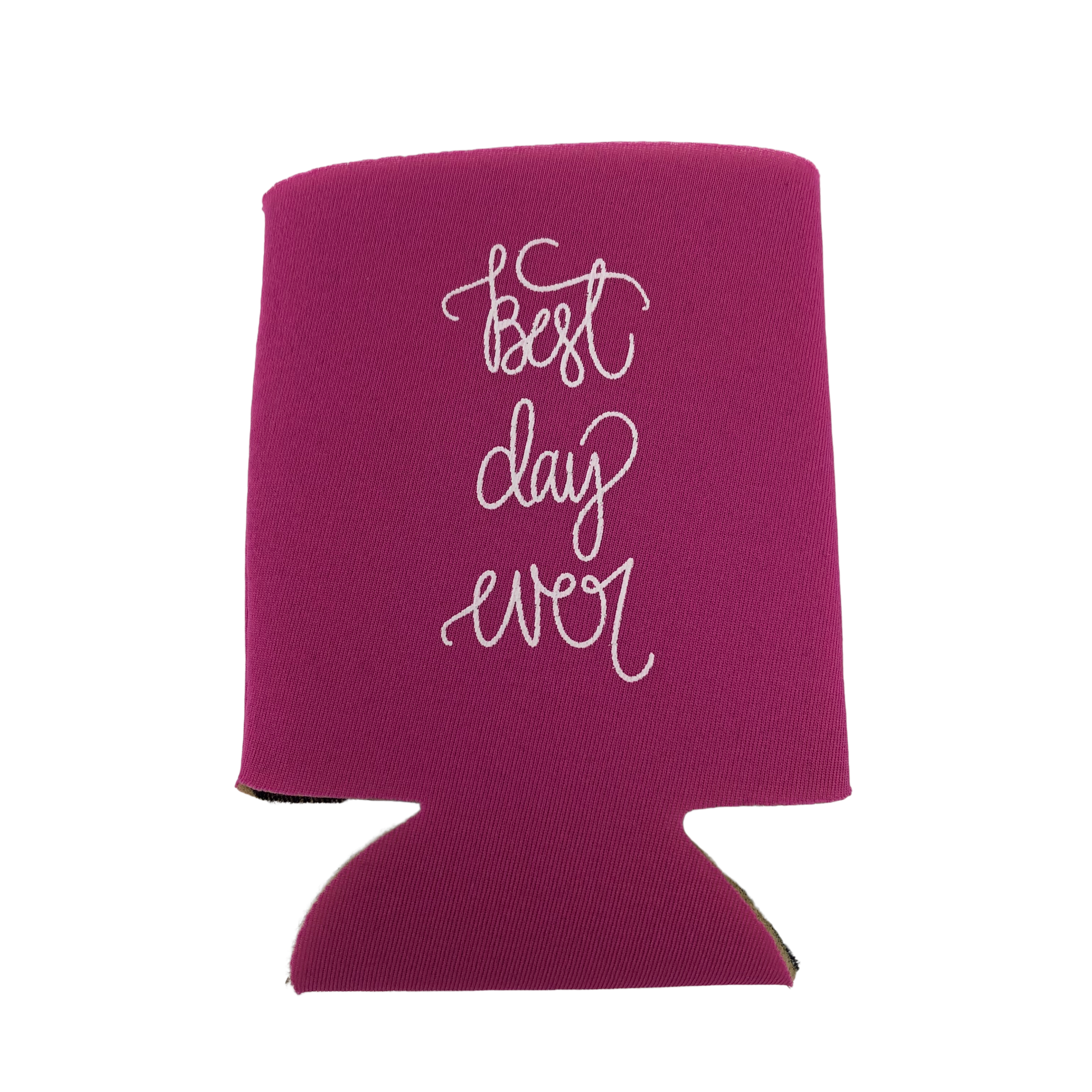 Lizzylovesletters Koozie Pink Best Day Ever