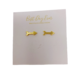 Golden Stella Arrow Studs - Gold