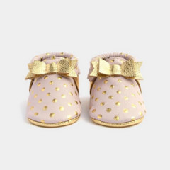 Freshly Picked Bow Moccasin Blush Heirloom
