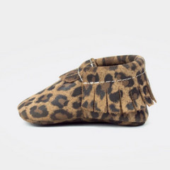 Freshly Picked Signature Moccasins Leopard