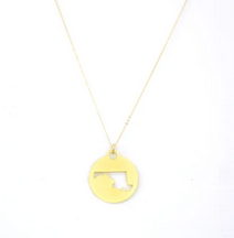Zootility Maryland Gold Necklace