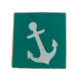 The Painted Mermaid Block Anchor - Teal